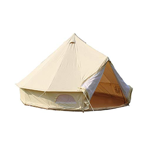 Outdoor Waterproof Luxury Glamping Bell Tent,Four-Season Waterproof,Premium & Breathable,Suitable for Camping, Hiking Traveling!
