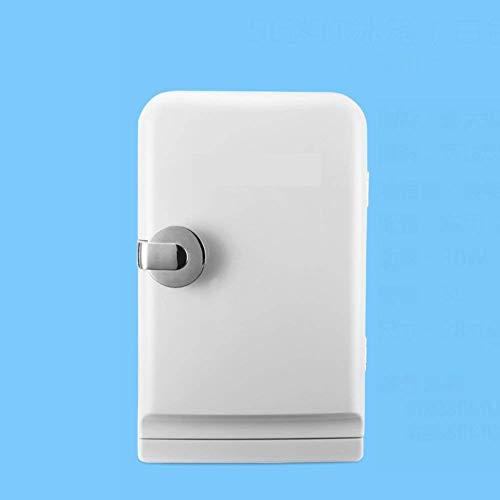 AYDQC Mini refrigerador de Coches, refrigerador 5L Fresco Mini refrigerador pequeño hogar portátil Compacto Nevera Personal Enfriar Calientes-Rosa 31.5x28x19cm (12x11x7inch) fengong