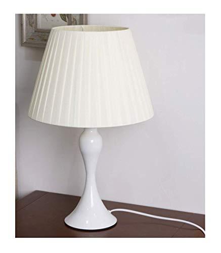 Tafellamp bureau tafellamp moderne minimalistische tuin slaapkamer bedlampje led modern bedlampje, slaapkamer stoffen kap, woonkamer, kinderkamer, kantoor (kleur: D-Dimmi
