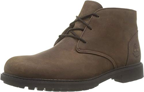 Timberland Herren Stormbuck Waterproof Chukka Boots, Braun (Burnished Dark Brown Oiled), 44 EU