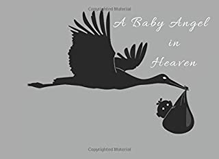 A Baby Angel in Heaven: Funeral Guest Book Condolence Remembrance Memorial Service Registration, In Memoriam Name and Address, Messages Memories Comments, Loving Memory (In Memory)