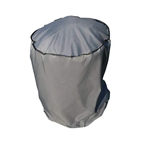 SORARA Housse de Protection Hydrofuge pour Barbecue | Gris | Ø 69 x 97 cm