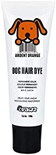 Dog Hair DYE Gel (Orange) Bright, Fun Shade, Semi-Permanent, Completely Non-Toxic Safe