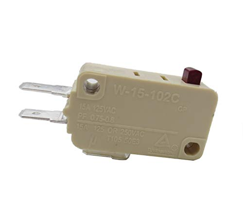 3 x Granit-Tür-Kontrollschalter, Mikrowellen-Berührungsschalter, Mikrowellen-Mikroschalter, silberner Touch-Schalter W-15-102C,202,302 Mikrowellen-Regelschalter