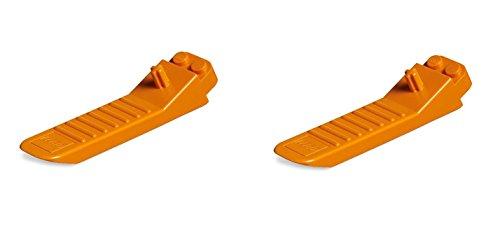 LEGO Orange Brick Separators by LEGO