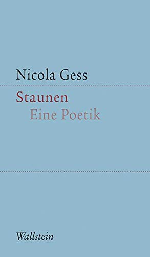 Staunen: Eine Poetik (Kleine Schriften zur literarischen Ästhetik und Hermeneutik)