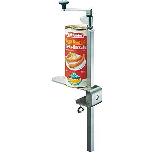 Westmark Dosenöffnermaschine zur Tischmontage, für Gastronomie/Profi-Küchen, Länge: 84 cm, Edelstahl, Sieger Clou 50, 19902260