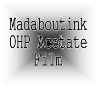 A4 Ohp Acetato Film de Transparencia para Impresoras Inkjet 20 Hojas
