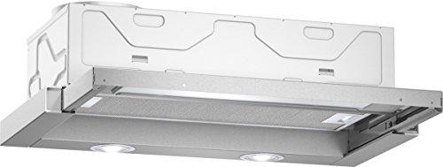 Neff DBR4612X Dunstabzugshaube aus Edelstahl, Flachschirmhaube, Abluft- oder Umluftbetrieb