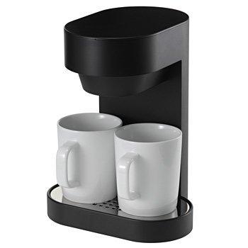 プラマイゼロ±0 コーヒーメーカー 2CUP プラスマイナスゼロ XKC-V110-B ブラック