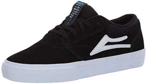 Lakai Limited Footwear Mens GRIFFIN Skate Shoe, BLACK SUEDE,10 medium