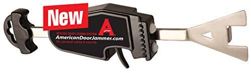 American Door Jammer, Keyless Portable Door Lock for Home Defense, Travel Door Lock for Motels,...