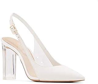 حذاء رسمي كعب عالي للنساء من الدو، مقاس 6.5 US, (ابيض), 6.5 US
