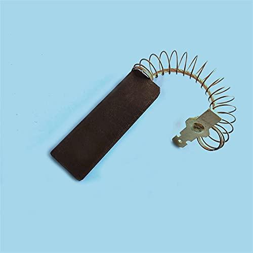 Junlucki Nuovo 10 Pezzi di Ricambio per spazzole di Carbone Motore per Bosch/NEFF/Siemens Lavatrice Motore Elettrico Parti di Utensili Accessori