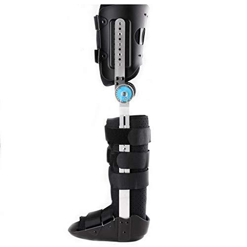 HSRG knie enkel voet orthosis beugel, verstelbare kalf enkel fixatie beugel met wandelschoenen beugel voor knie, enkel, voet breuk of fixatie letsel