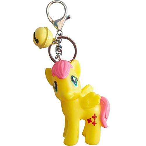 Lindo Mi Pequeño Pony SP Aretes Adultos Caballo Blanco Unicornio Rosa Amarillo Azul