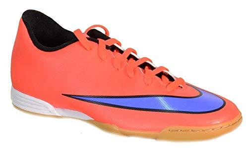 Nike Mercurial Vortex II IC Fußballschuhe Red Indoor Leather 651648 42 EU