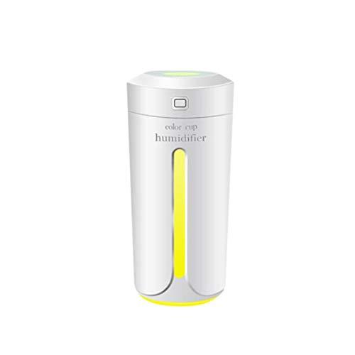 Kaiyitong El humidificador, el humidificador USB, el purificador de Aire en Aerosol para el hogar, Elimina el Olor del Interior del Auto con una Barra de oxígeno pequeña (Color : White)