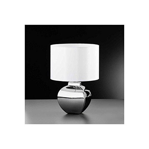 Honsel Leuchten 96571 Aron - Lámpara de mesa (1 bombilla E27, 46 W)