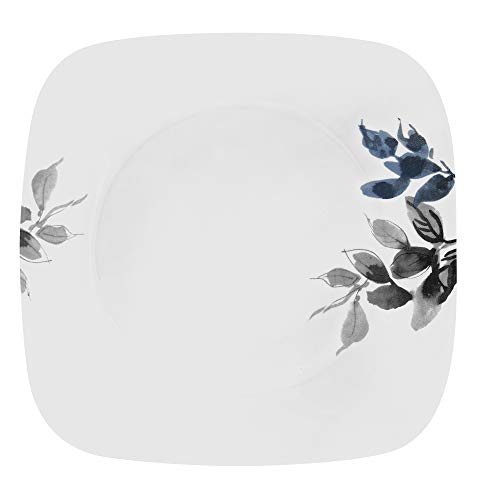 Corelle Boutique Square Dinner Plate Kyoto Night 10.5in (26.7cm) 6 Pack