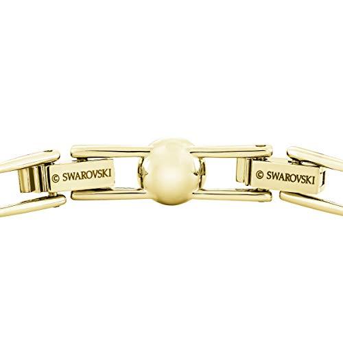 Swarovski Braccialetto Angelic, Bianco, Placcato Oro