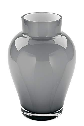 Fink Vase Goya - aus Glas mundgeblasen und durchgefärbt H 22 cm