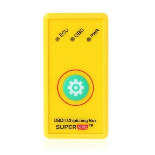 Atralife OBD2 Car Chip Tuning Box Plug, Drive ECU OBD2 Performance Chip Tuning Box Suitable for Gasoline Vehicles and Diesel Vehicles