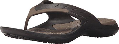 crocs Unisex Modi Sport Flip-Flop, Espresso/Walnut, 9 M (D) US Men /...