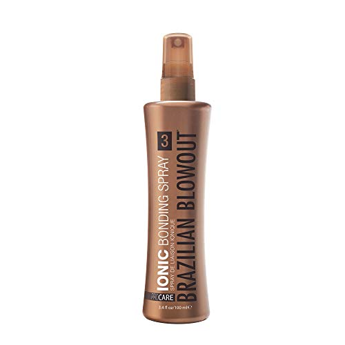 BRAZILIAN BLOWOUT Ionic Bonding Spray, 3.4 Fl oz, Packaging May Vary