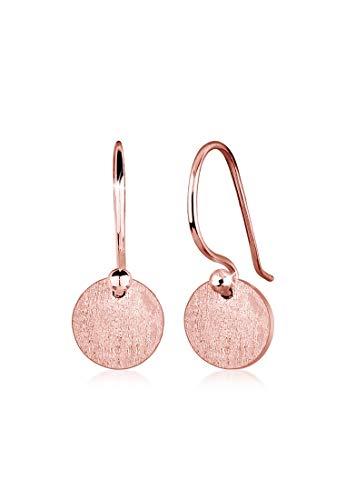 Elli Ohrringe Damen Geo Minimal Trend Matt in 925 Sterling Silber