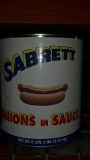 Sabrett: Onions in Sauce 104 Oz.