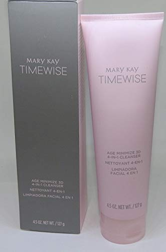 Mary Kay Timewise Age Minimize 3D 4-in-1 Cleanser Combination to Oily Skin (4.5 oz) (088998)
