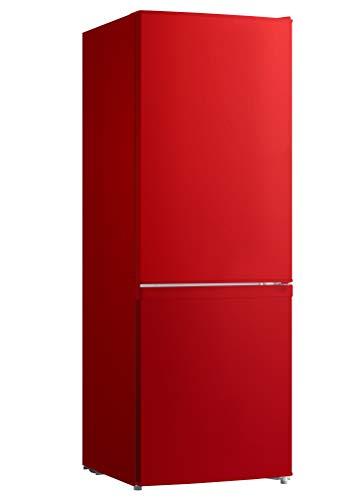 respekta KG 142 A++ Kühl-Gefrierkombination mit Low-Frost-Funktion, rot