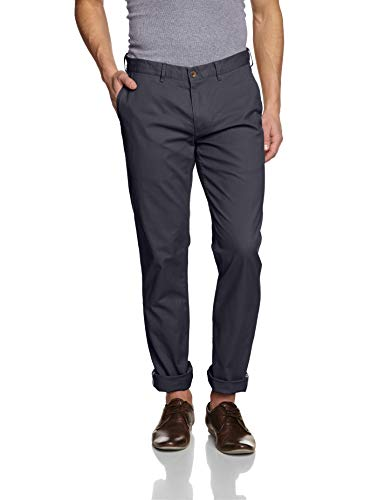Ben Sherman Men's Slim Stretch Chino Pant, Dark Navy, 34