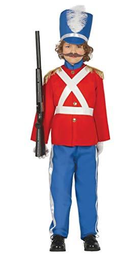 Fiestas Guirca Costume soldatino di Piombo Schiaccianoci soldatino di Stagno Bambino
