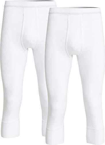 con-ta Herren-Unterhose, 3/4-lang 2er-Pack Doppelripp Größe 5