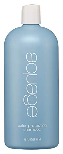 AQUAGE Color Protecting Shampoo, 35 Oz, Helps Seal in Color to Prevent Fading, Specifically Created for Color-Treated Hair, Provides Gentle Cleansing for Normal-To-Dry Hair