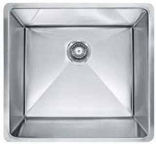 Franke PEX110-21 Planar 8 21-Inch x 17-Inch x 9.5-Inch Kitchen Sink, 18-Gauge, Stainless Steel by Franke