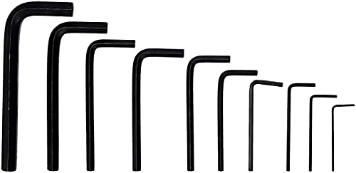Rolson 40352 Hex Key Set, 1.5-10 mm-10 Pieces