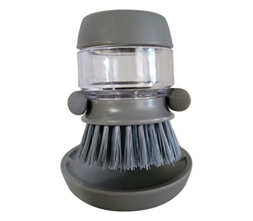 Soap Dispenser Brush  Kitchen Brush for Pot Pan Sink Cleaning amp Dish Scrub brushes
