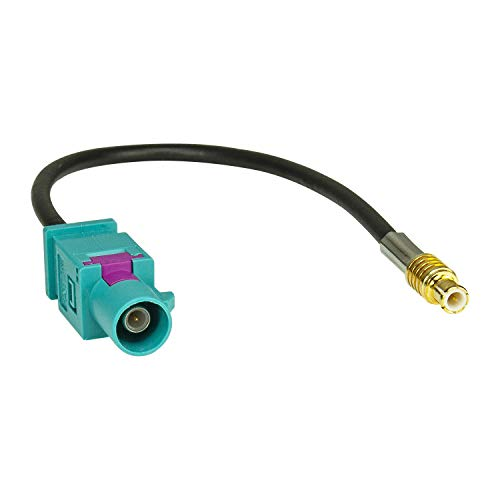 tomzz Audio 1500-049 Fakra (m) Adaptador de Antena enchufar a mcx (m) enchufar Antena Dab
