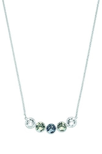 Noelani Damen-Collier Swarovski Elements Messing rhodiniert Kristall Mehrfarbig 45 cm - 528603