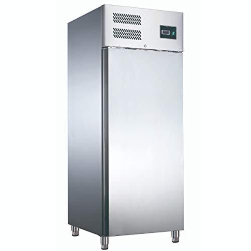 ZORRO - Kühlschrank ZGN 650 TN - Edelstahl - Gastro Kühlschrank mit Volltüre - R600A - Digitales Thermostat