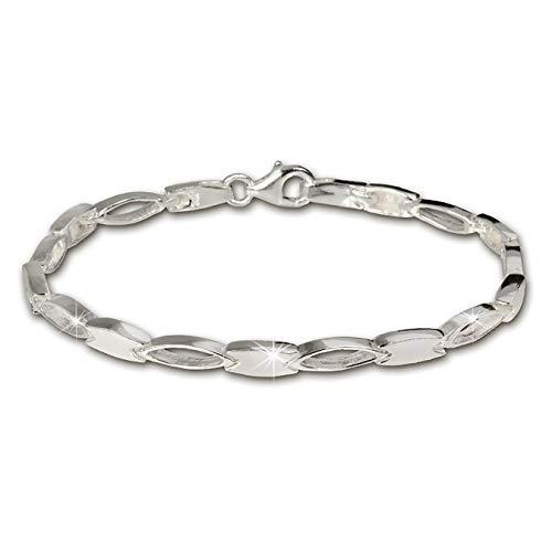 SilberDream Damen-Armband 925 Sterling Silber 18,5cm SDA403