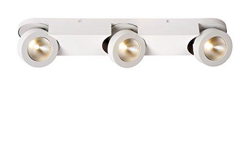 Lucide MITRAX-LED - Spot Plafond - LED Dim. - 3x5W 3000K - Blanc