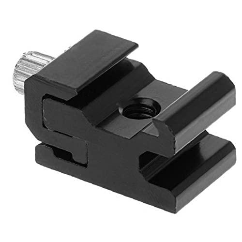 Treppiede per fotocamera per montaggio a calore, staffa flash, supporto, adattatore a vite, flash, supporto luminoso rotante, elettronica di consumo