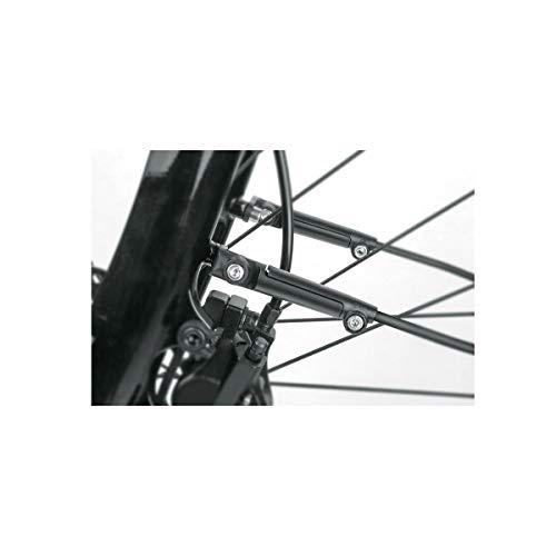 SKS Unisex– Erwachsene ESC-Vario Schutzblechstecker, schwarz, 1size