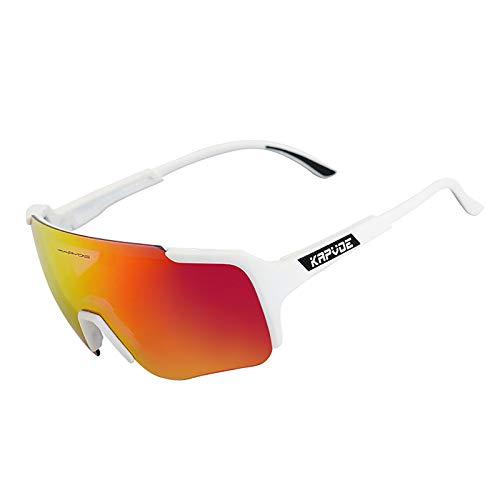 Gafas de Sol para Ciclismo Resistentes a Los Arañazos para Mujer, Gafas de Ciclismo al Aire Libre con Marco TR90 para Montar, Pescar, Golf, Conducir,04