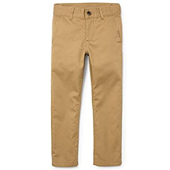 The Children s Place boys Uniform Skinny Chino Casual Pants Flax 5 Slim US