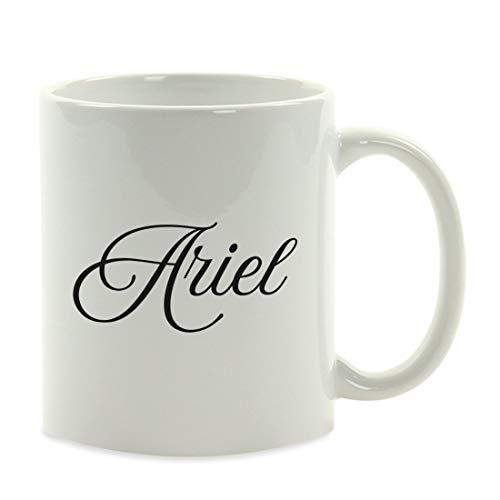 Regalo de taza de café totalmente personalizado, estilo elegante, paquete de 1, nombre o texto personalizado, cumpleaños de Navidad a medida Dama de honor Dama de honor Padrino de boda Ideas de regalo